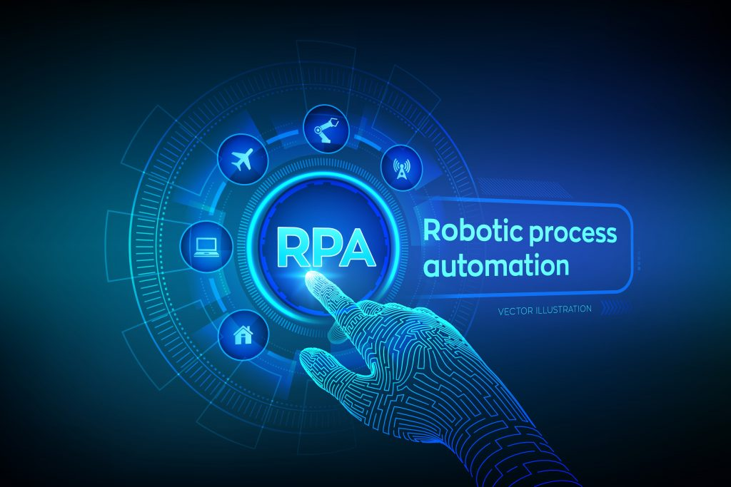RPA Robotic process automation - Center of Excellence
